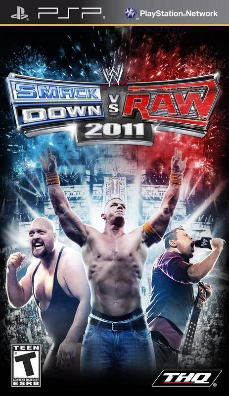 WWE SmackDown vs. Raw 2011 - PlayStation Portable