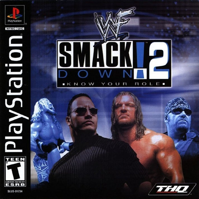 WWF SmackDown! 2 Know Your Role - PlayStation 1