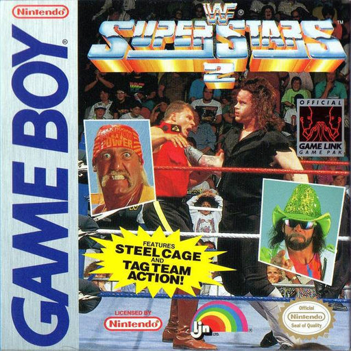 WWF Superstars 2 - Game Boy
