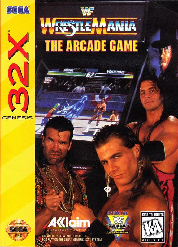 WWF Wrestlemania The Arcade Game (32X 1995)