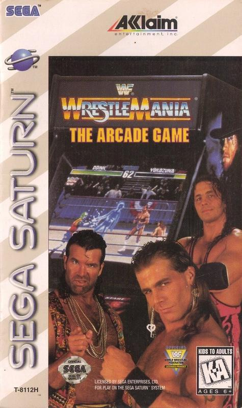 WWF Wrestlemania The Arcade Game - Sega Saturn