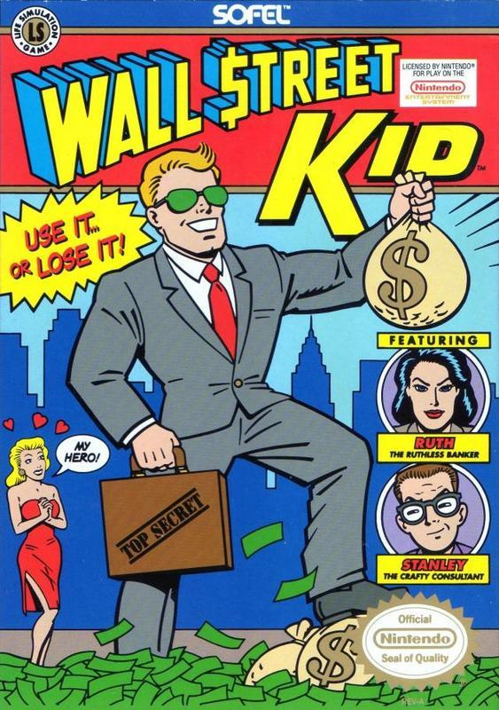 Wall Street Kid - Nintendo Entertainment System