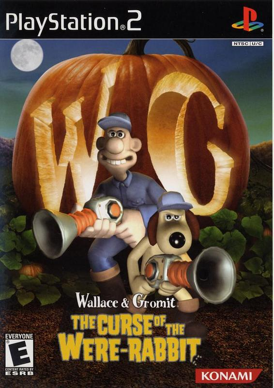 Wallace & Gromit The Curse of the Were-Rabbit - PlayStation 2