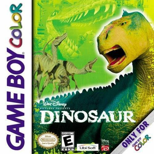 Walt Disney Pictures Presents Dinosaur - Game Boy Color