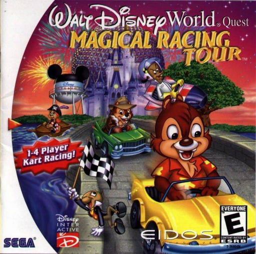 Walt Disney World Quest Magical Racing Tour - Sega Dreamcast