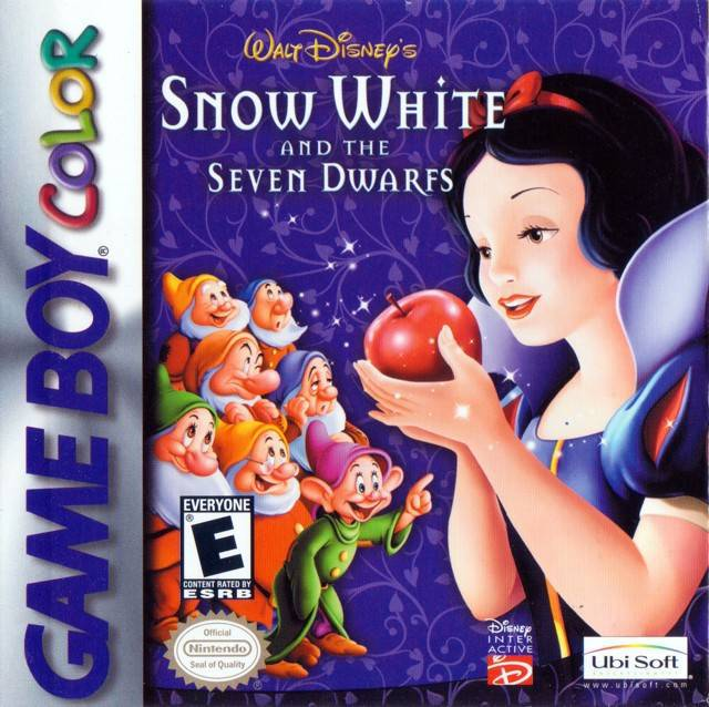 Walt Disneys Snow White and the Seven Dwarfs - Game Boy Color