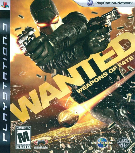 Wanted Weapons of Fate - PlayStation 3
