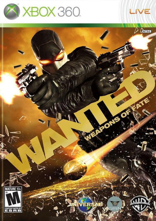Wanted Weapons of Fate - Xbox 360