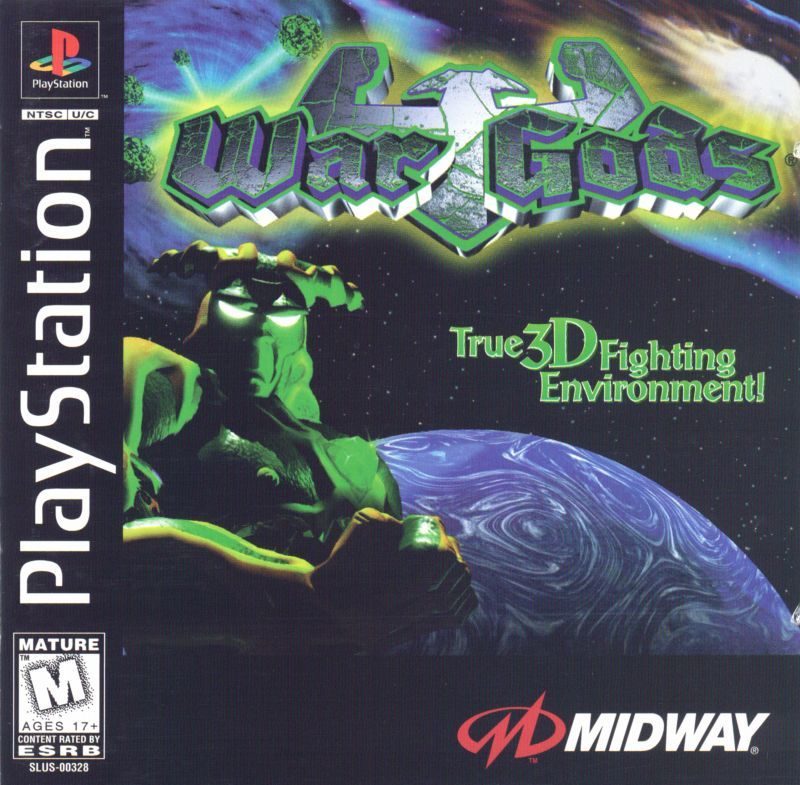 War Gods - PlayStation 1