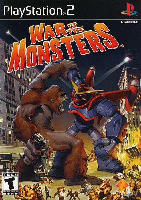War of the Monsters - PlayStation 2