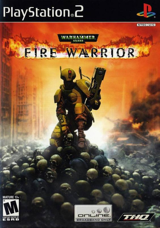 Warhammer 40000 Fire Warrior - PlayStation 2