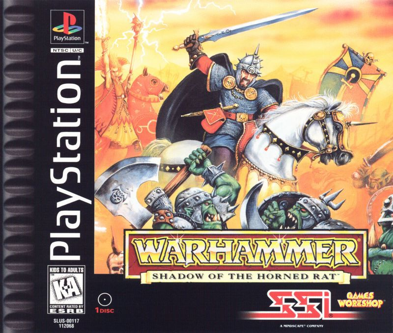 Warhammer Shadow of the Horned Rat - PlayStation 1