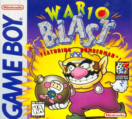 Wario Blast Featuring Bomberman! - Game Boy