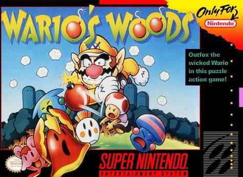 Warios Woods - Super Nintendo Entertainment System