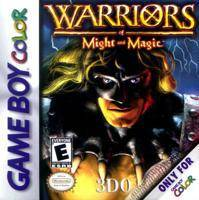 Warriors of Might and Magic - Game Boy Color