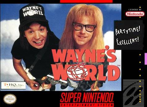 Waynes World - Super Nintendo Entertainment System
