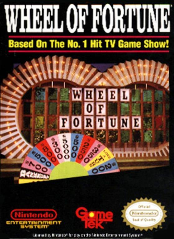 Wheel of Fortune - Nintendo Entertainment System