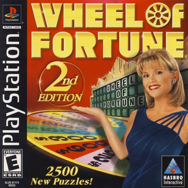 Wheel of Fortune 2nd Edition - PlayStation 1