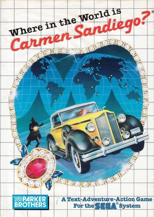 Where in the World is Carmen Sandiego? - Sega Master System