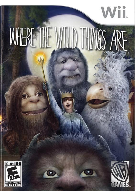 Where the Wild Things Are - Wii