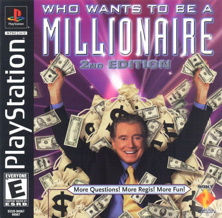 Who Wants to Be a Millionaire 2nd Edition - PlayStation 1