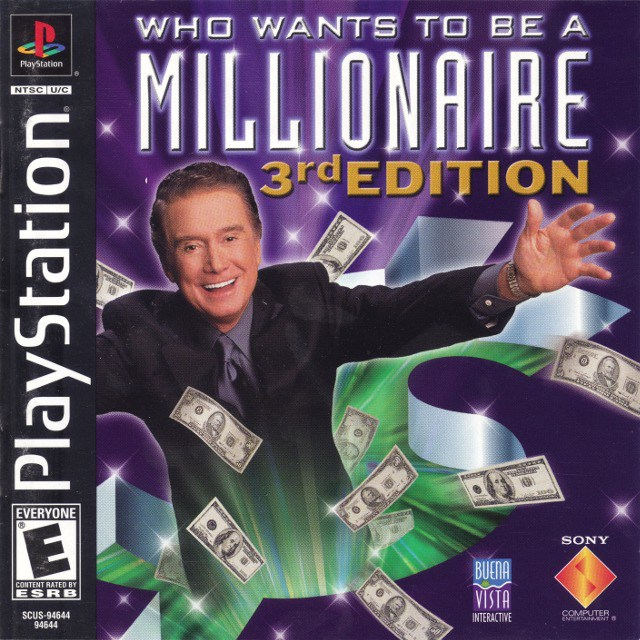 Who Wants to Be a Millionaire Third Edition - PlayStation 1