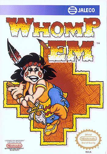 Whomp Em - Nintendo Entertainment System