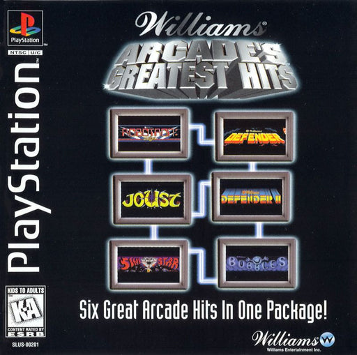 Williams Arcades Greatest Hits - PlayStation 1