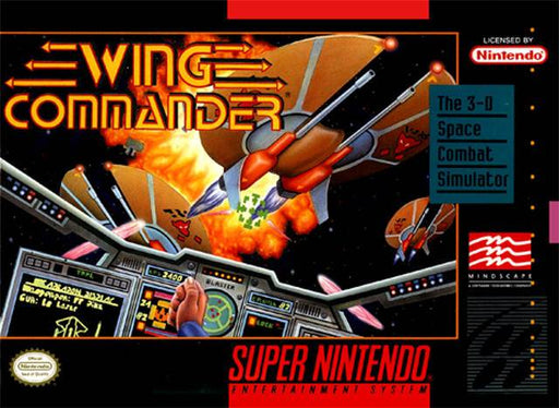 Wing Commander - Super Nintendo Entertainment System