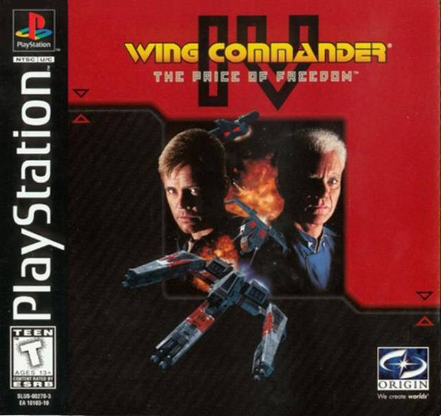 Wing Commander IV The Price of Freedom - PlayStation 1