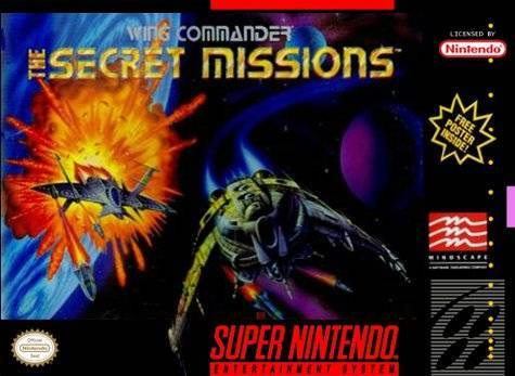 Wing Commander The Secret Missions - Super Nintendo Entertainment System
