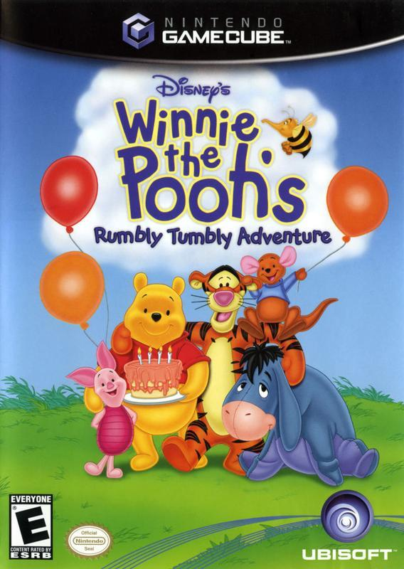 Winnie the Poohs Rumbly Tumbly Adventure - Gamecube
