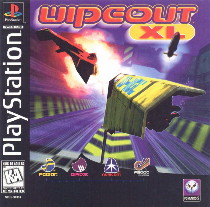 Wipeout XL - PlayStation 1