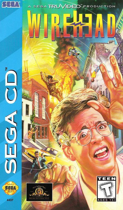 Wirehead - Sega CD
