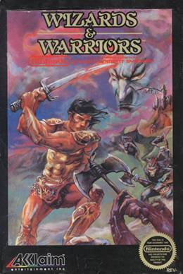 Wizards & Warriors - Nintendo Entertainment System