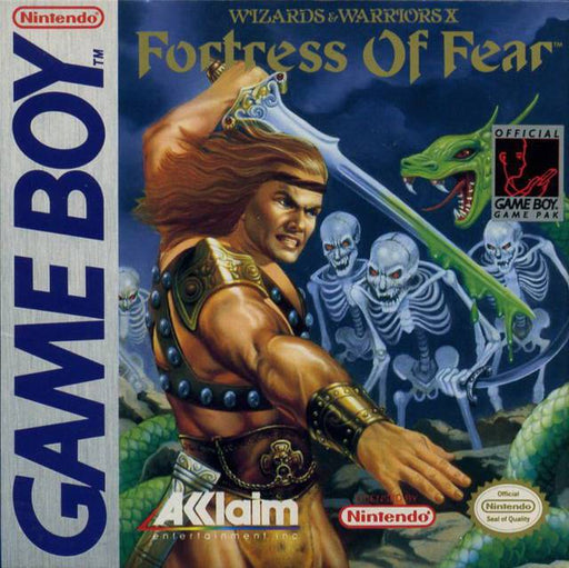 Wizards & Warriors X The Fortress of Fear - Game Boy