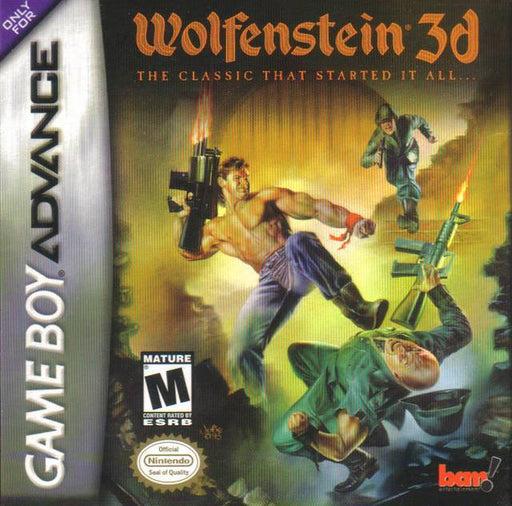 Wolfenstein 3D - Game Boy Advance