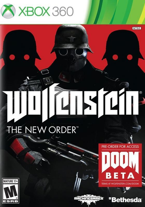 Wolfenstein The New Order - Xbox 360