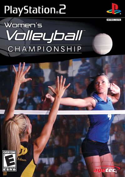 Womens Volleyball Championship - PlayStation 2