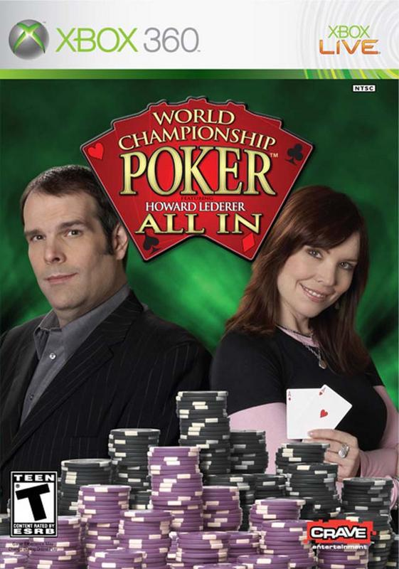 World Championship Poker Featuring Howard Lederer - All In - Xbox 360