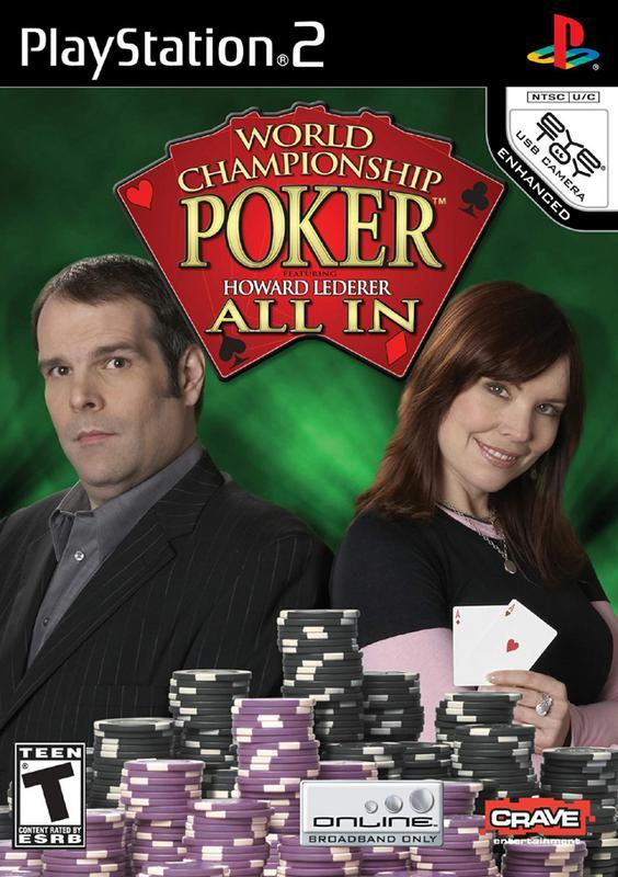 World Championship Poker Featuring Howard Lederer All In - PlayStation 2
