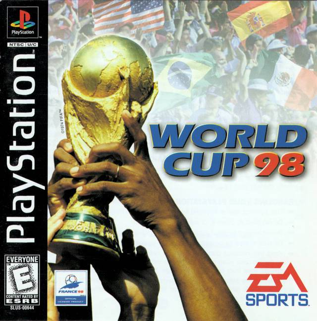 World Cup 98 - PlayStation 1