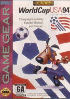 World Cup USA 94 - Sega Game Gear