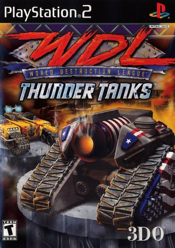 World Destruction League Thunder Tanks - PlayStation 2