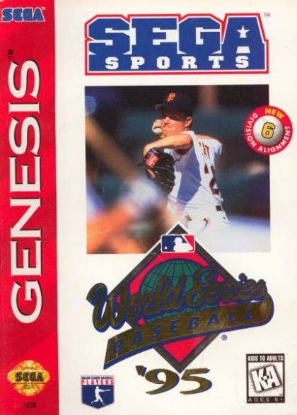 World Series Baseball 95 - Sega Genesis