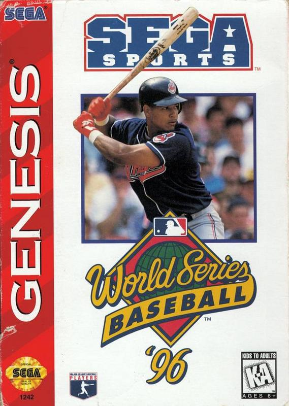 World Series Baseball 96 - Sega Genesis