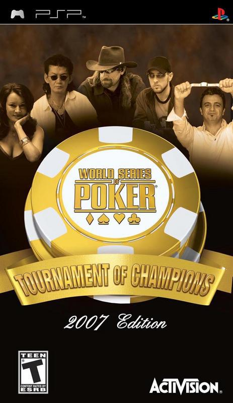 World Series of Poker Tournament of Champions - PlayStation Portable