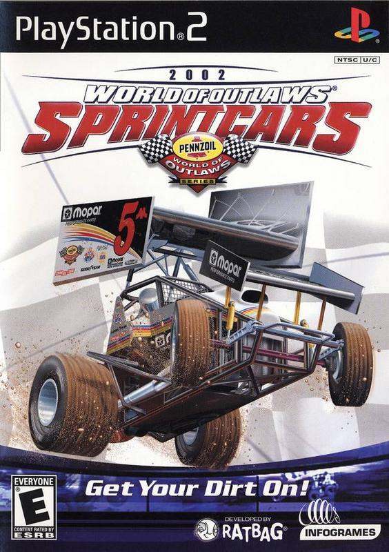 World of Outlaws Sprint Cars 2002 - PlayStation 2