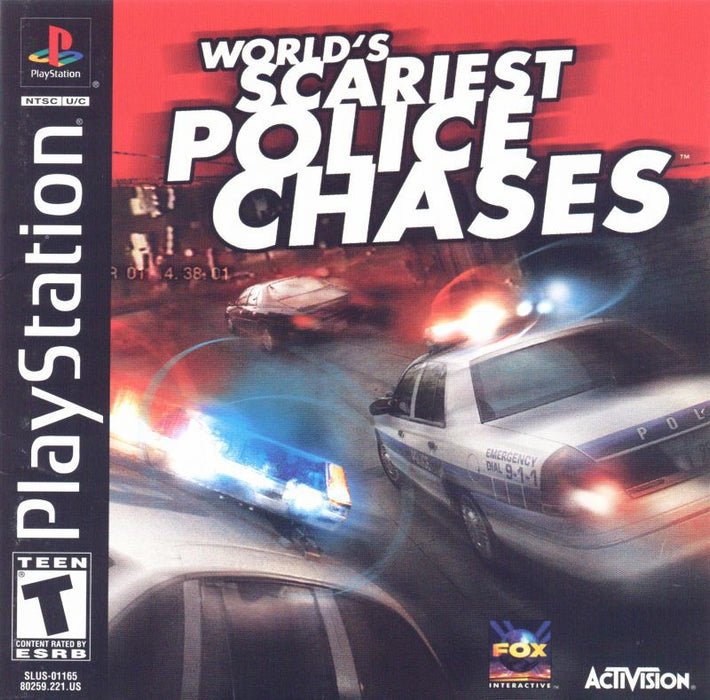 Worlds Scariest Police Chases - PlayStation 1