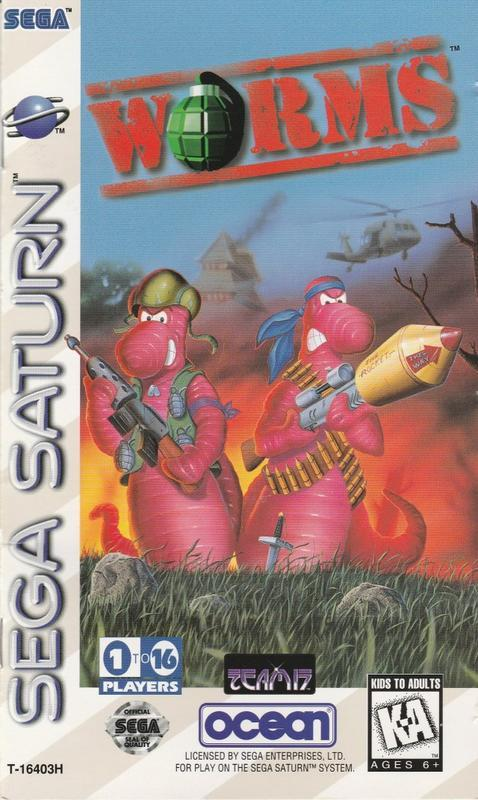 Worms - Sega Saturn